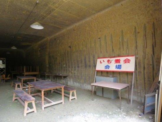 Uriwari Sekitei Park: 物置きになっていました