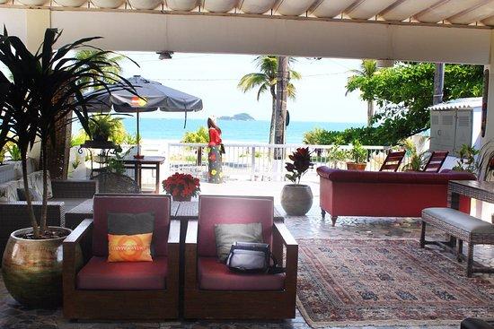 Costas Maris Beach Hotel Frente Mar: Area do Cafe da Manha