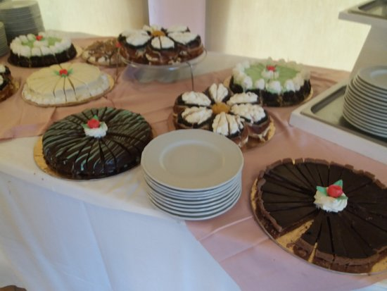 Alma Resort: buffet di dolci