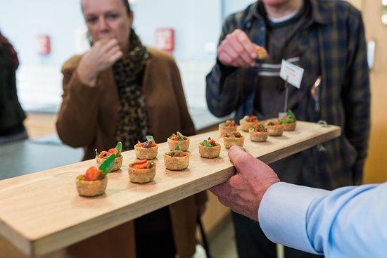 The Seafood School at Billingsgate: Canape Classes