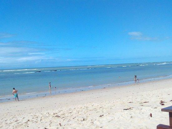 Aracaipe Beach: Não passou nenhum ambulante vendendo bugigangas, nem tocando forró. Um sonho...