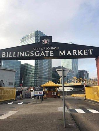 The Seafood School at Billingsgate: Billingsgate Market