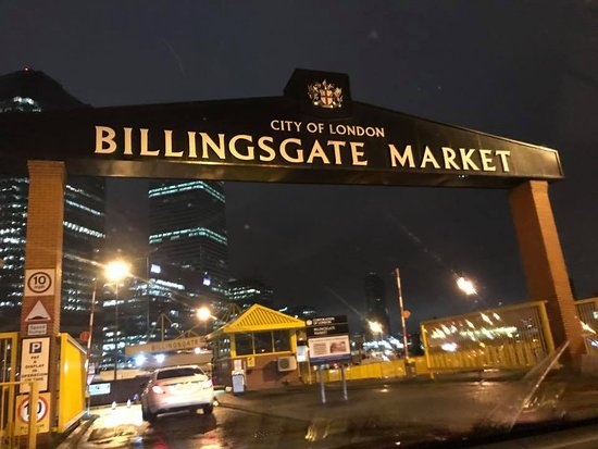The Seafood School at Billingsgate: Market View