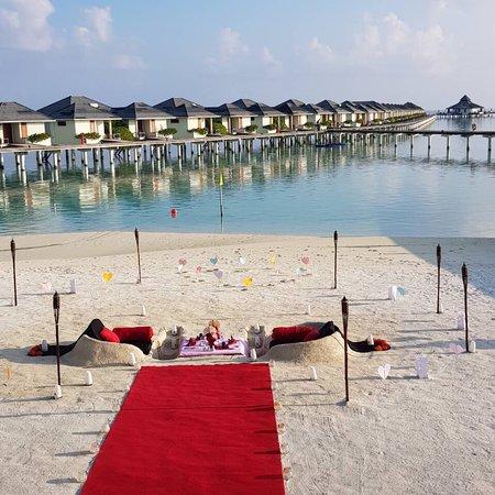 Sun Island Resort and Spa: Enjoy with Romantic Dinner