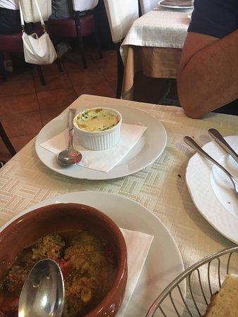 Osteria al Cardoncello: besciamella e gamberi