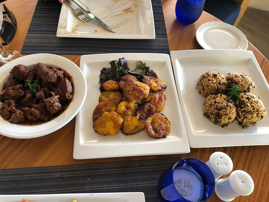 Secrets Cap Cana Resort & Spa: Special Dominican Meal prepared for us.(Not on any menu)