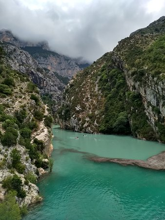 Provence Tours : The incredible Gorges with the gorgeous colours!