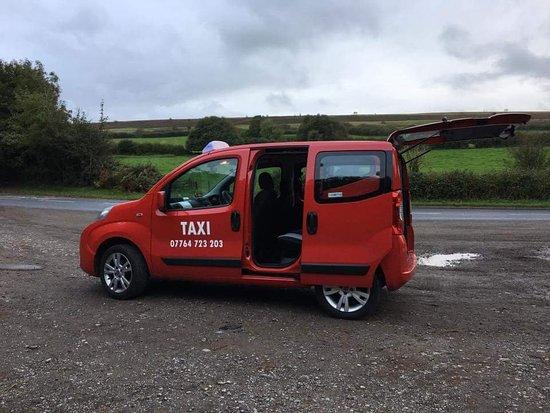 Salisbury Red Taxi