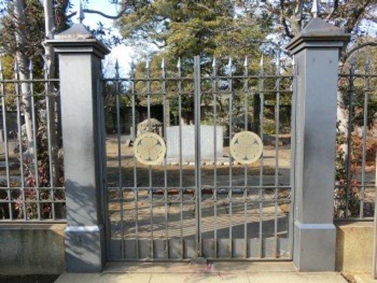 Tombstone of Tokugawa Yoshinobu : 墓所入口