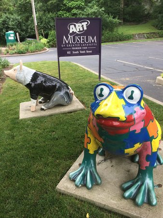 The Art Museum of Greater Lafayette: Animal theme.