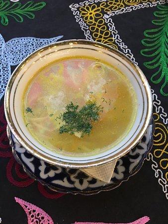 Chaikhona P.Love: Суп с лапшой