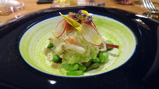 Béni: Crab with Green Pea
