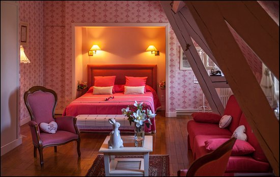 Chateau de La Riviere: La chambre Marie-Charlotte