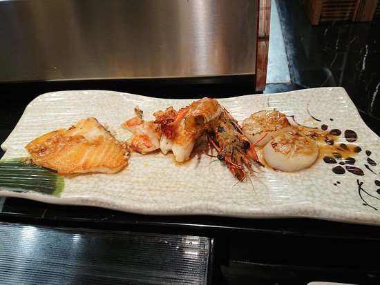 My seafood set