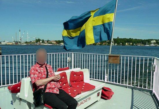 M/S Emelie : On board