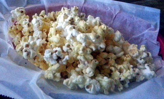 The Bringer Inn : a basket of popcorn with seasoning