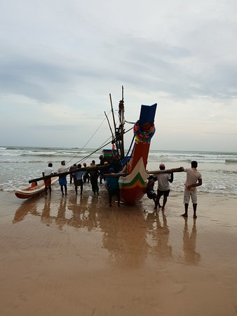 Weligama Bay Marriott Resort & Spa: Local fisher man