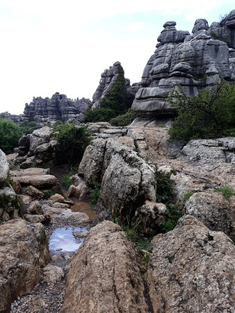 El Torcal de Antequera: Formation rocheuse