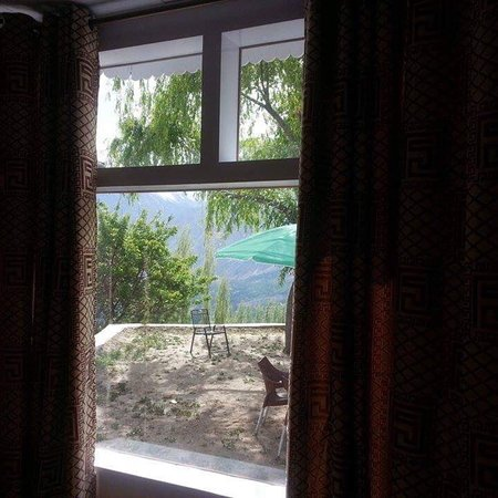 Karimabad, Pakistan: Hunza Panorama Hotel and Camping Site
