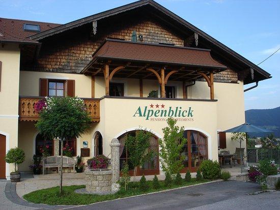 Alpenblick Pension: Hausansicht
