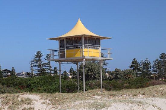 Semaphore Beach: The lifeguard