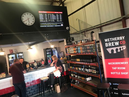 Wetherby, UK: Our Tap Room Bar is open most weekends