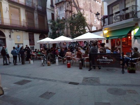 Arandinos Tapas Valencia: bonita tarde en la Plaza del Ángel