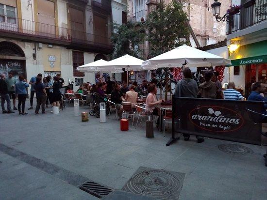Arandinos Tapas Valencia: nuestra placita