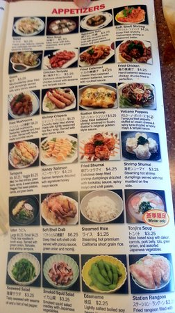 Sushi Station Arlington Heights Menu / Good sources of protain, it's popular among ladies!