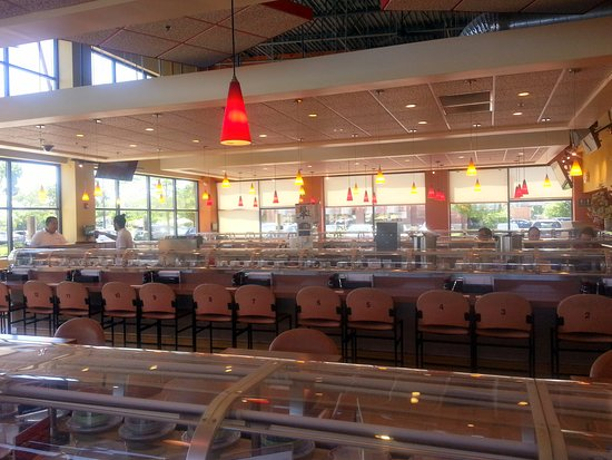 Sushi Is Delivered Right To Your Tables On The Conveyor Picture Of Sushi Station Elgin Tripadvisor A 0.1 km de sushi station. sushi station elgin tripadvisor