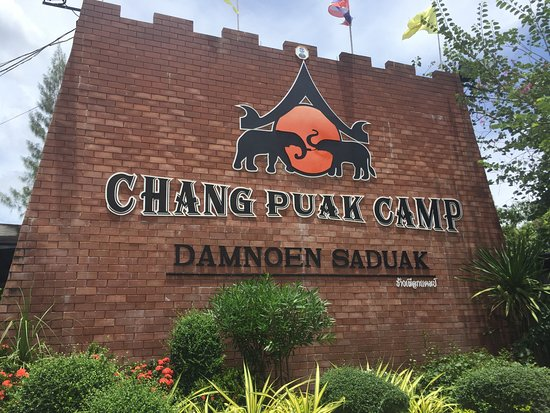 Chang Puak Camp Damnoensaduak