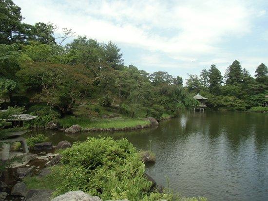 Naritasan Shinsho-ji Temple: 公園内の池