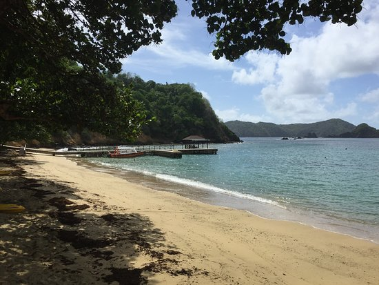 Blue Waters Inn: Beach and Great Glass Bottom tour/snorkeling