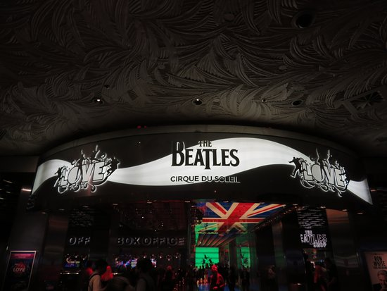 "The Beatles - Love - Cirque du Soleil: ""The Beatles LOVE"" at the Mirage"
