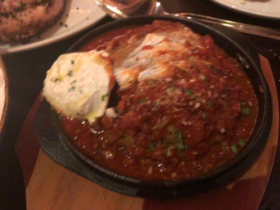 "LAVO Italian Restaurant & Rooftop Bar: ""The Meatball"" ($38)"