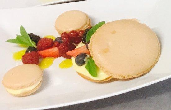 Auberge du Cheval Blanc: Le Macaron Fraîcheur