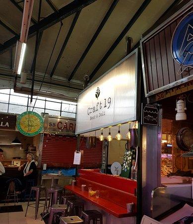 Craft 19 Bar in Mercado Vallehermoso