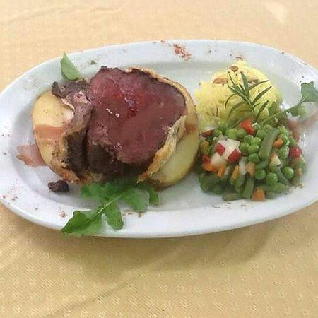Eresos, Grecja: Beef Wellington!!