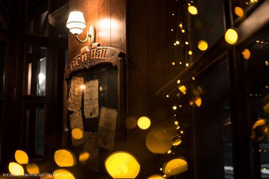 Traditional English Pub Ben Hall