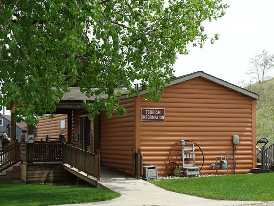 Jamestown, ND: The Visitors Information Center