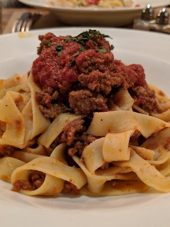 Roman Nose: Fresh House Made Meatballs and Pasta.