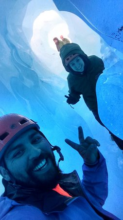 Turismo Valle Leones: Caminata en Hielo Glaciar Exploradores