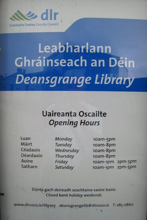 Deansgrange Library: Great facility in the community