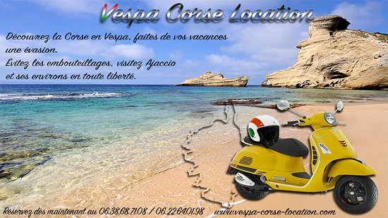 Vespa Corse Location