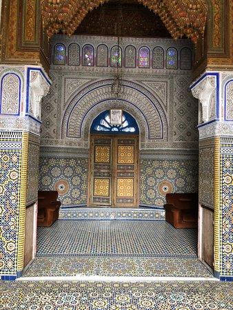 Glaoui Palace: first room