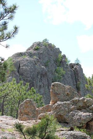 คัสเตอร์, เซาท์ดาโคตา: Rocks on the hike