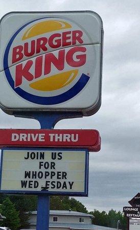 Deep River ON Burger King