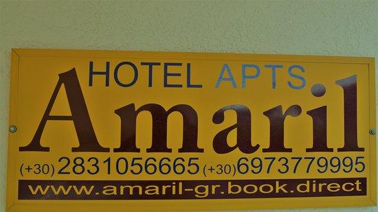 Hotel Amaril : Logo