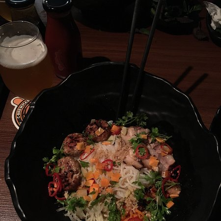 Amazing Vietnamese food.