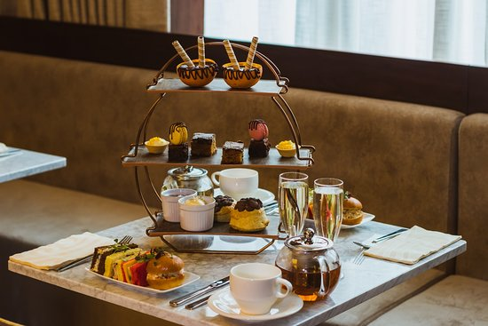 โรงแรมชาฟต์สบิวรี่ พรีเมียร์ ลอนดอน แพดดิงตั้น: Ice Cream afternoon tea
